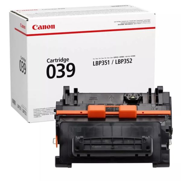 Заправка картриджа CANON 039