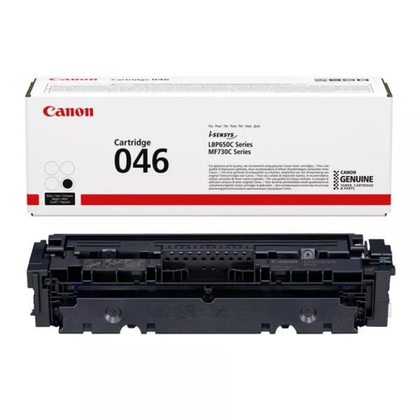 Заправка картриджа CANON 046 Bk