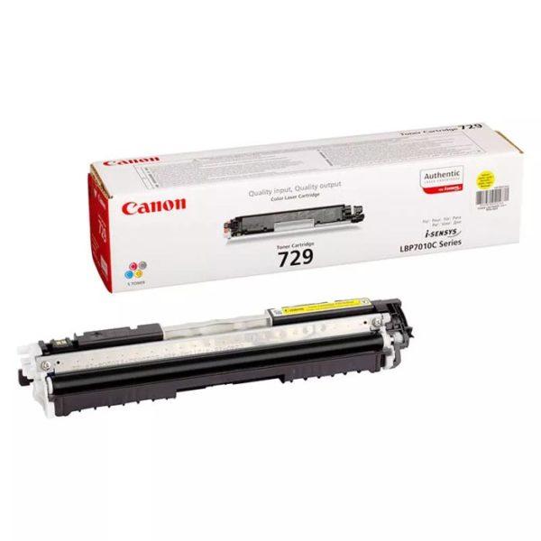 Заправка картриджа CANON 729 Y
