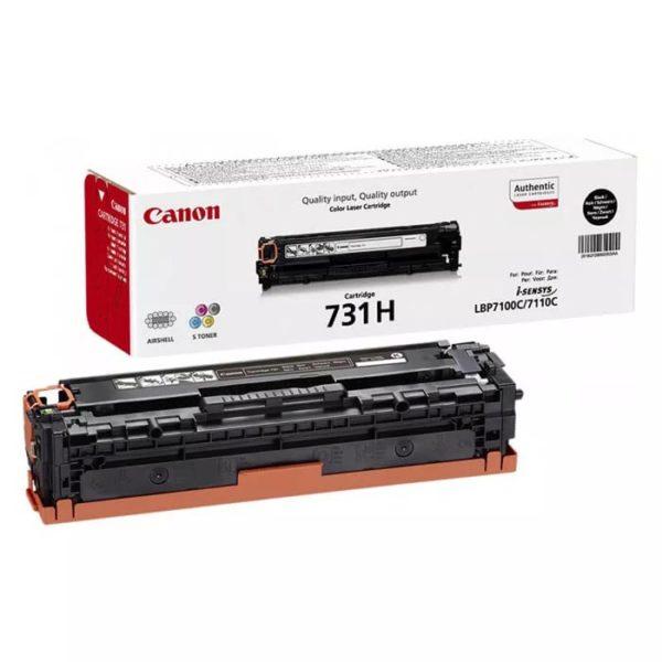 Заправка картриджа CANON 731 HBK