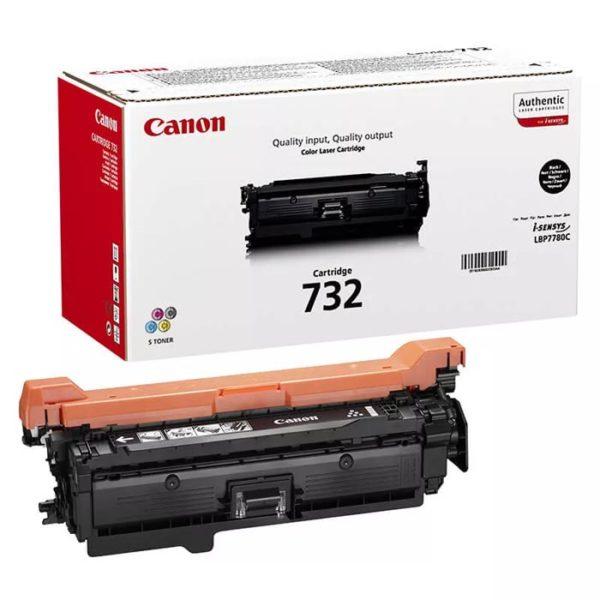 Заправка картриджа CANON 732 Bk