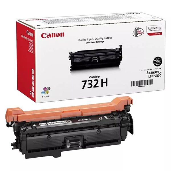 Заправка картриджа CANON 732 HBk