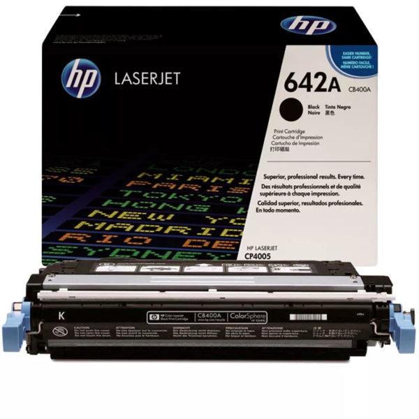 Заправка картриджа HP CB400A (642A)