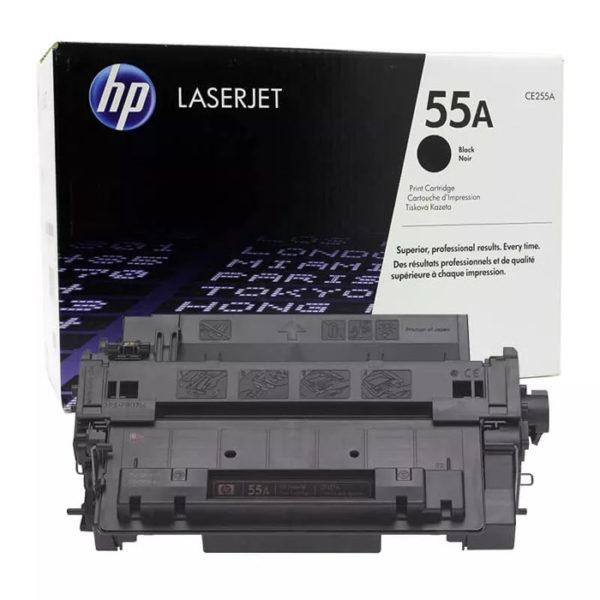 Заправка картриджа HP CE255A (55A)
