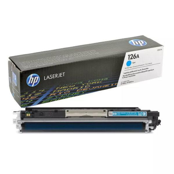 Заправка картриджа HP CE311A (126A)
