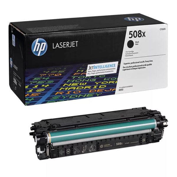 Заправка картриджа HP CF360X (508X)