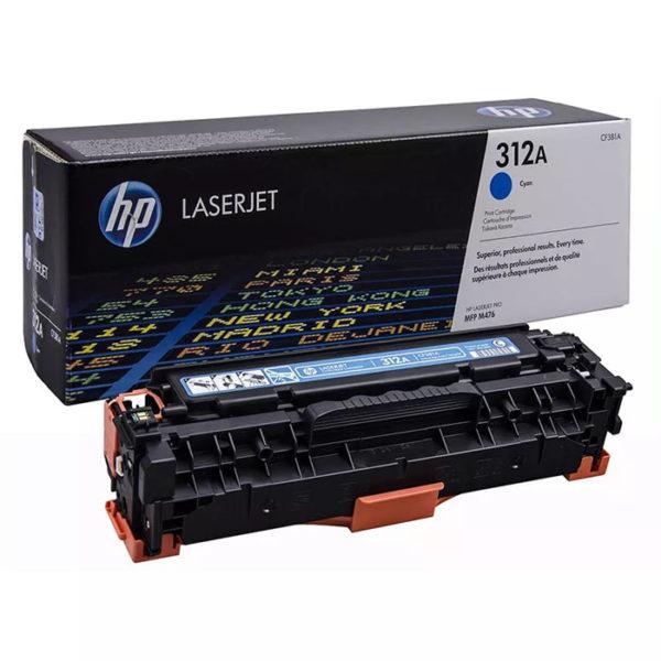 Заправка картриджа HP CF381A (312A)