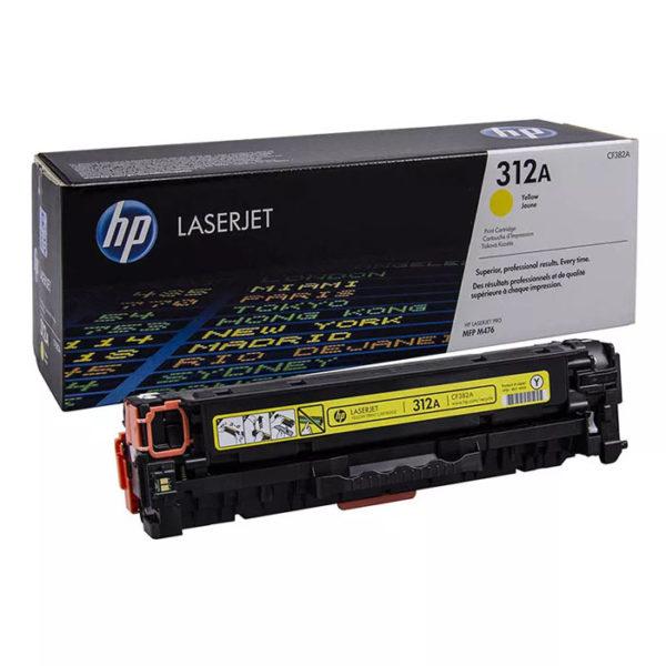Заправка картриджа HP CF382A (312A)