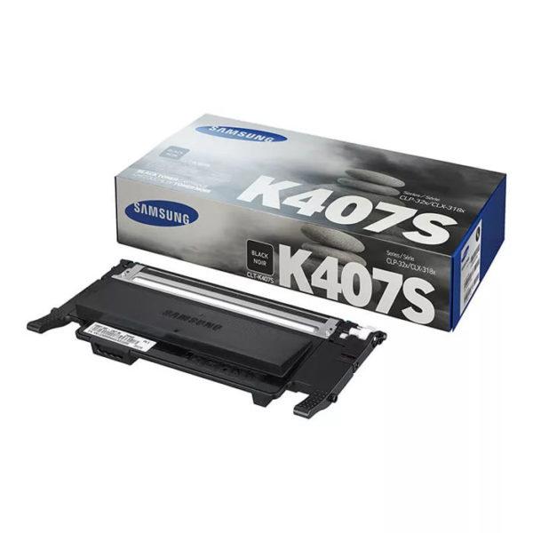 Заправка картриджа SAMSUNG CLT-K407S