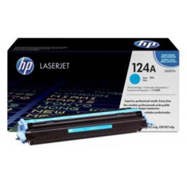 Заправка картриджа HP Q6001A (124A)