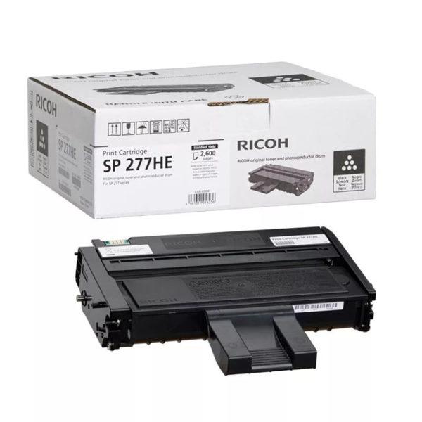 Заправка картриджа RICOH SP 277HE (408160)