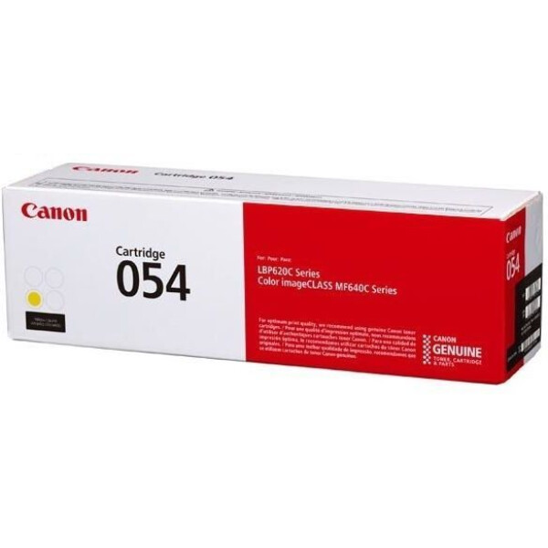 Заправка картриджа CANON 054 Y