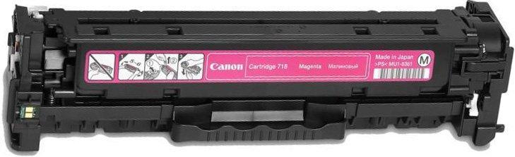 Заправка картриджа CANON 718 M