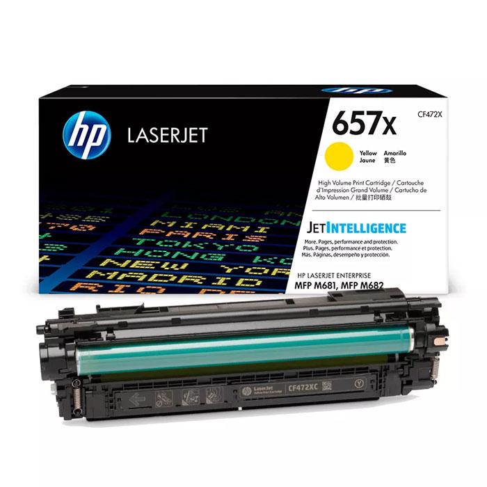 Заправка картриджа HP CF472X (657X)