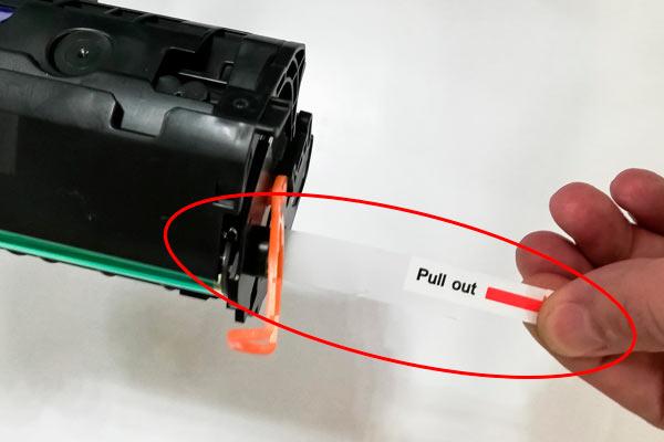 защитная пленка лазерного картриджа